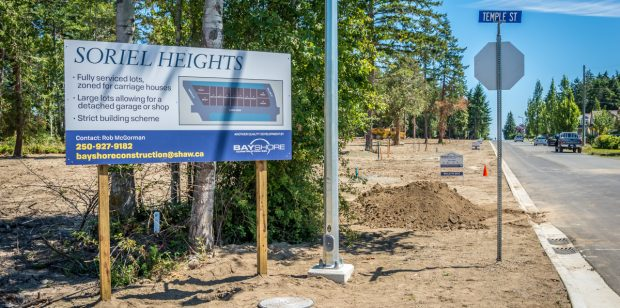 Your New Custom Lot is here in Parksville.