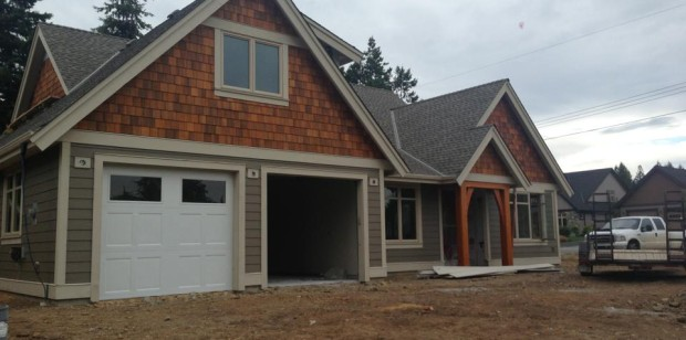 Custom Home in Parksville
