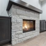 735 West Ridge fireplace built ins